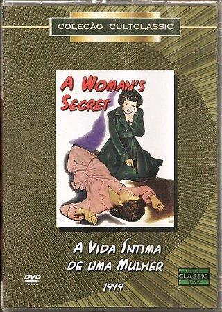 Dvd - A Vida Intima De Uma Mulher - Nicholas Ray