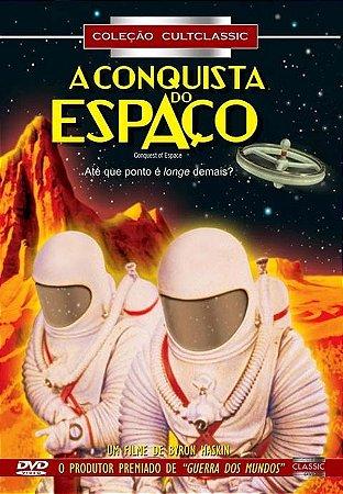 Dvd  A Conquista Do Espaço  Walter Brooke