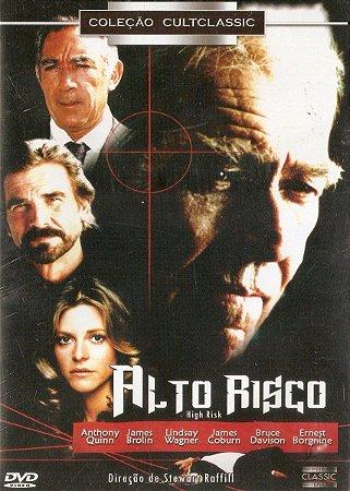 Dvd - Alto Risco - James Brolin - Anthony Quinn