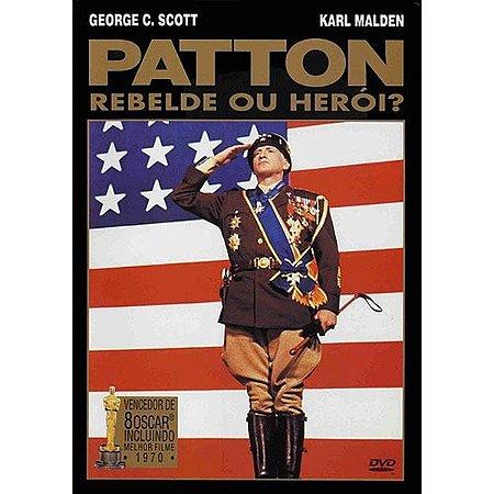 Dvd Duplo Patton Rebelde Ou Herói - George C. Scott