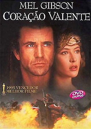 Dvd Duplo - Coração Valente - Mel Gibson