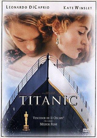 Dvd Titanic - Leonardo Dicaprio
