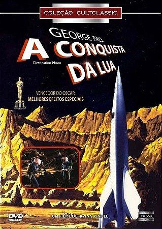 Dvd - A Conquista Da Lua - George Pal's