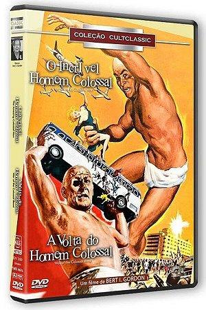 Dvd - O Incrível Homem Colossal / A Volta Do Homem Colossal