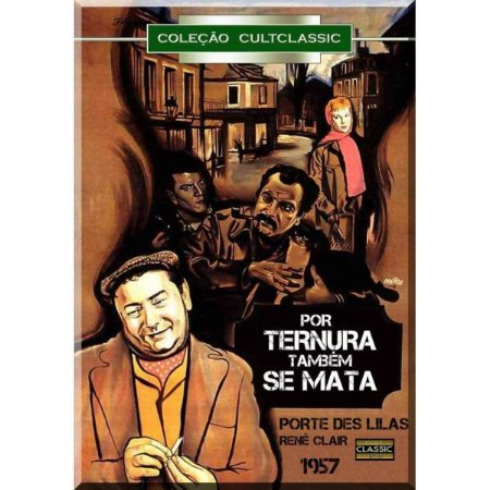 Dvd Por Ternura Também Se Mata - René Clair