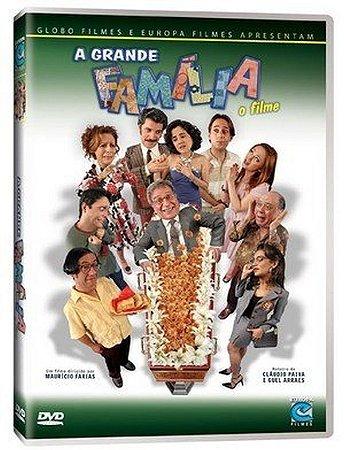 Dvd Duplo  A Grande Família: O Filme