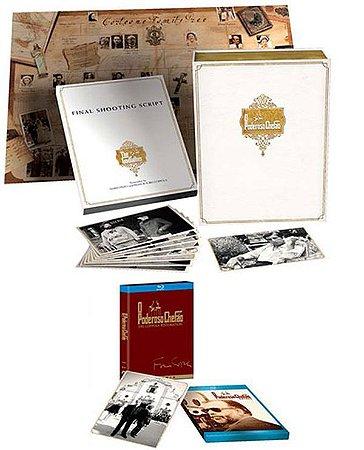 Box Blu Ray O Poderoso Chefão - edição De 40 Anos 4 Discos