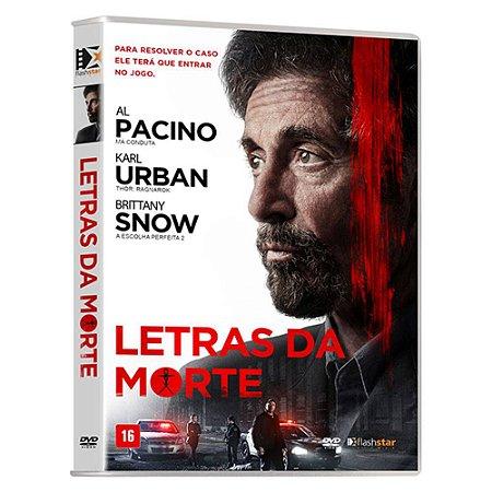 DVD  Letras da Morte   Al Pacino