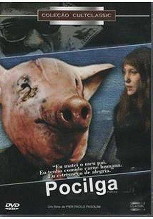 Dvd  Pocilga  Pier Paolo Pasolini
