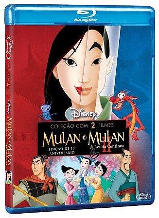 Bluray  Mulan / Mulan: A lenda continua  Coleção 2 filmes