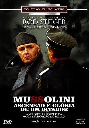 Dvd - Mussolini - Ascensão E Glória De Um Ditador