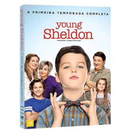 DVD Young Sheldon - 1 Temporada  - 2 discos