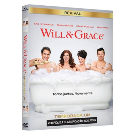 DVD Will & Grace Revival 1 Temporada - 2 discos