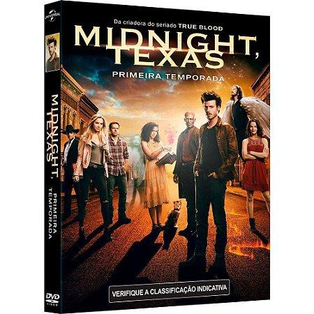 DVD Midnight Texas - 1 Temporada - 3 Discos