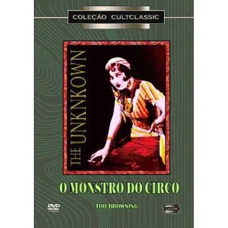 Dvd - O Monstro Do Circo - Lon Chaney