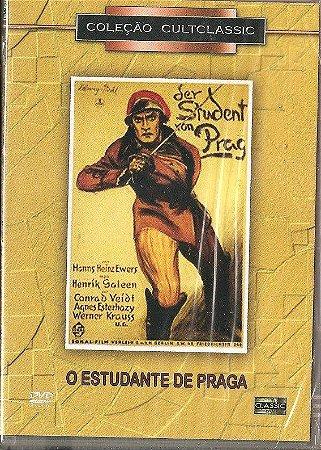 Dvd - O Estudante De Praga - Henrik Galeen