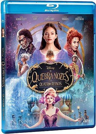 Blu ray - O Quebra-Nozes e Os Quatro Reinos- Morgan Freeman