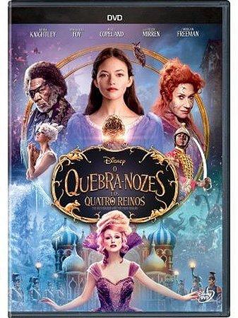 Dvd - O Quebra-Nozes e os Quatro Reinos - Morgan Freeman
