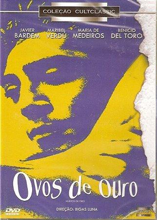 Dvd - Ovos De Ouro - Javier Bardem