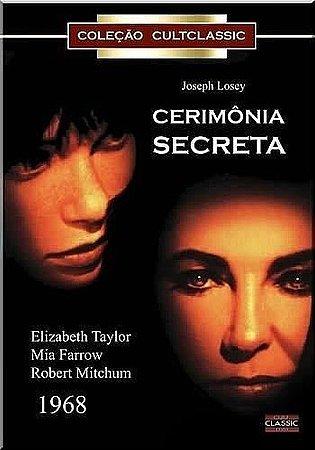 Dvd - Cerimônia Secreta - Elizabeth Taylor