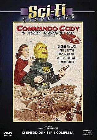 Dvd - Sci-fi Commando Cody O Homem Radar Da Lua