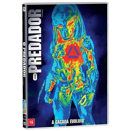 DVD - O Predador - A caçada evoluiu