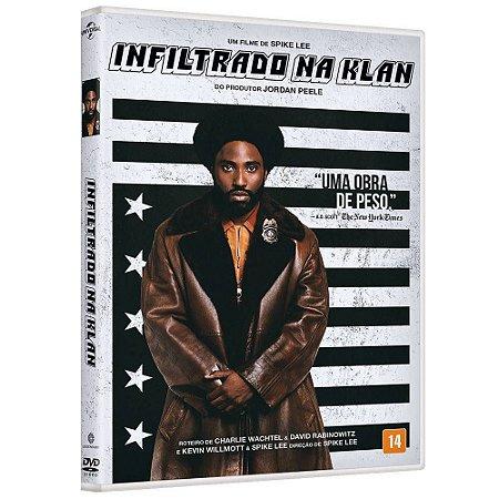 DVD  Infiltrado na Klan Spike Lee
