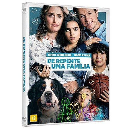 DVD  De Repente Uma Família  Mark Wahlberg