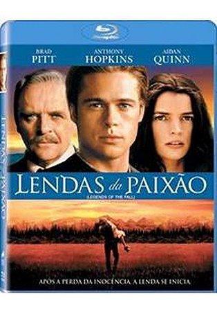 Blu Ray Lendas Da Paixão  Brad Pitt