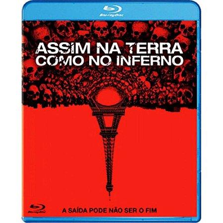 Blu Ray  Assim Na Terra Como No Inferno  John Erick Dowdle