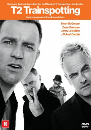 Dvd  T2 Trainspotting 2  Ewan Mcgregor