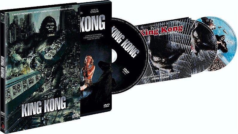 Dvd  King Kong  Jessica Lange  3 Discos