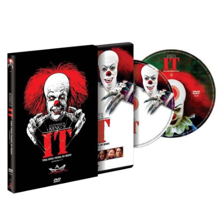 Dvd  It  Uma Obra Prima do Medo  2 Discos  Stephen King'ss