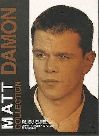 Dvd  Coleção Matt Damon Collection  4 Discos