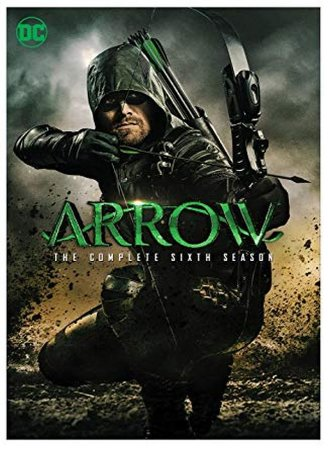 Box Dvd  Arrow  6ª Temporada  5 Discos