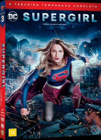 Box Dvd  Supergirl  3 Temporada  5 Discos