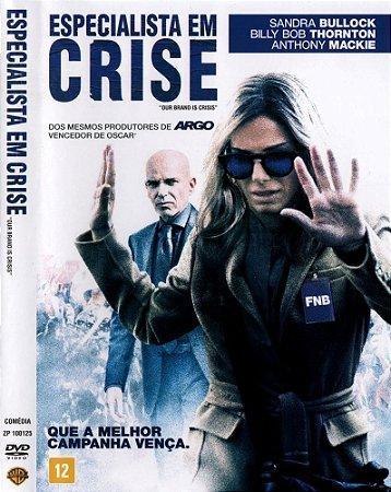 Dvd  Especialista em Crise  Sandra Bullock