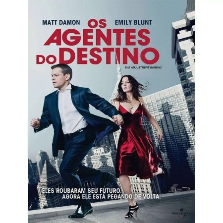 Dvd  Os Agentes Do Destino  Matt Damon