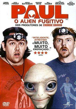Dvd  Paul O Alien Fugitivo  Simon Pegg