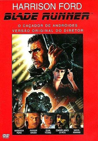 Dvd  Blade Runner: Caçador De Andróides  Harrison Ford