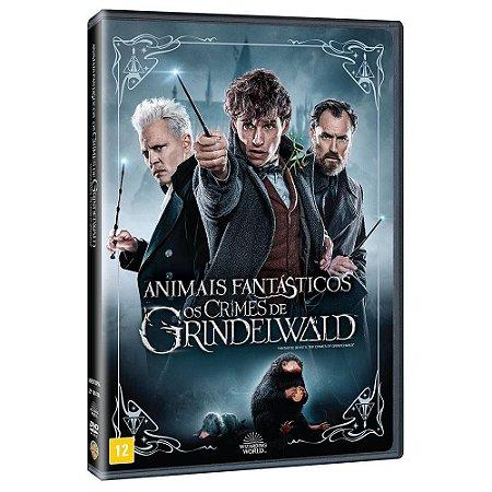 Dvd  Animais Fantásticos  Os Crimes de Grindelwald