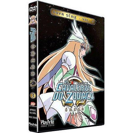 Dvd Os Cavaleiros do Zodíaco Ômega  Nova Série Volume 3