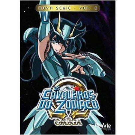 Dvd  Os Cavaleiros do Zodíaco Ômega Nova Série Volume 4