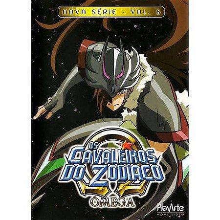 Dvd Os Cavaleiros do Zodíaco Ômega  Nova Série Volume 6