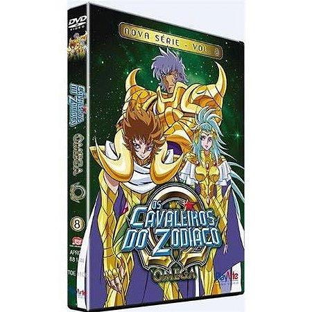 Dvd Os Cavaleiros do Zodíaco Ômega Nova Série Volume 8