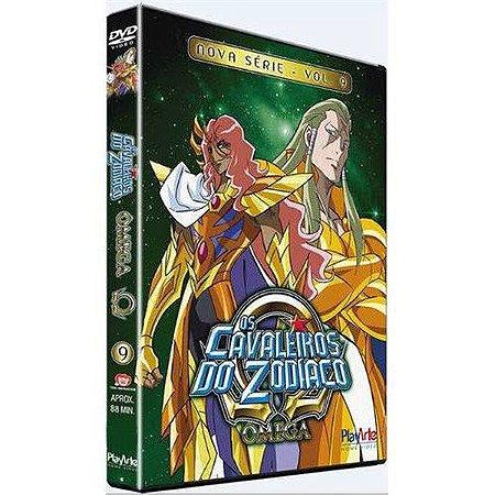 Dvd  Os Cavaleiros do Zodíaco Ômega Nova Série Volume 9
