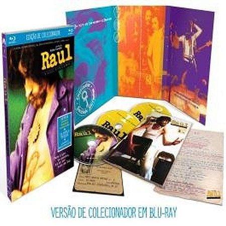 Blu ray 2 cds Raul Seixas: O Início, O Fim, O Meio  Edição de Colecionador