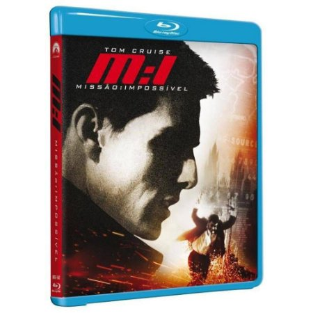 Blu Ray  Missão Impossível  Tom Cruise