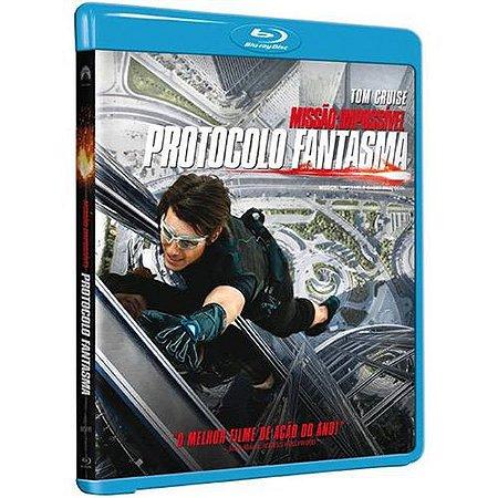 Blu Ray  Missão Impossível 4  Protocolo Fantasma