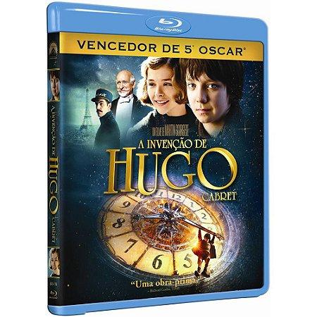 Blu Ray  A Invenção de Hugo Cabret